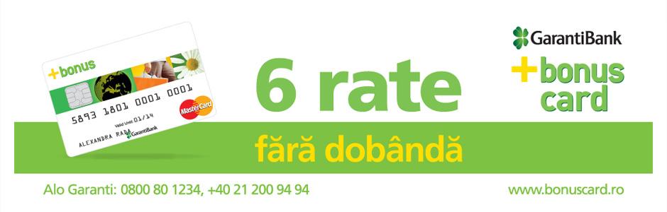 Plata in rate Garanti