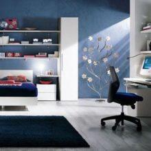Dormitor Tineret Blue