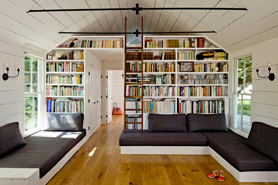 biblioteca de casa